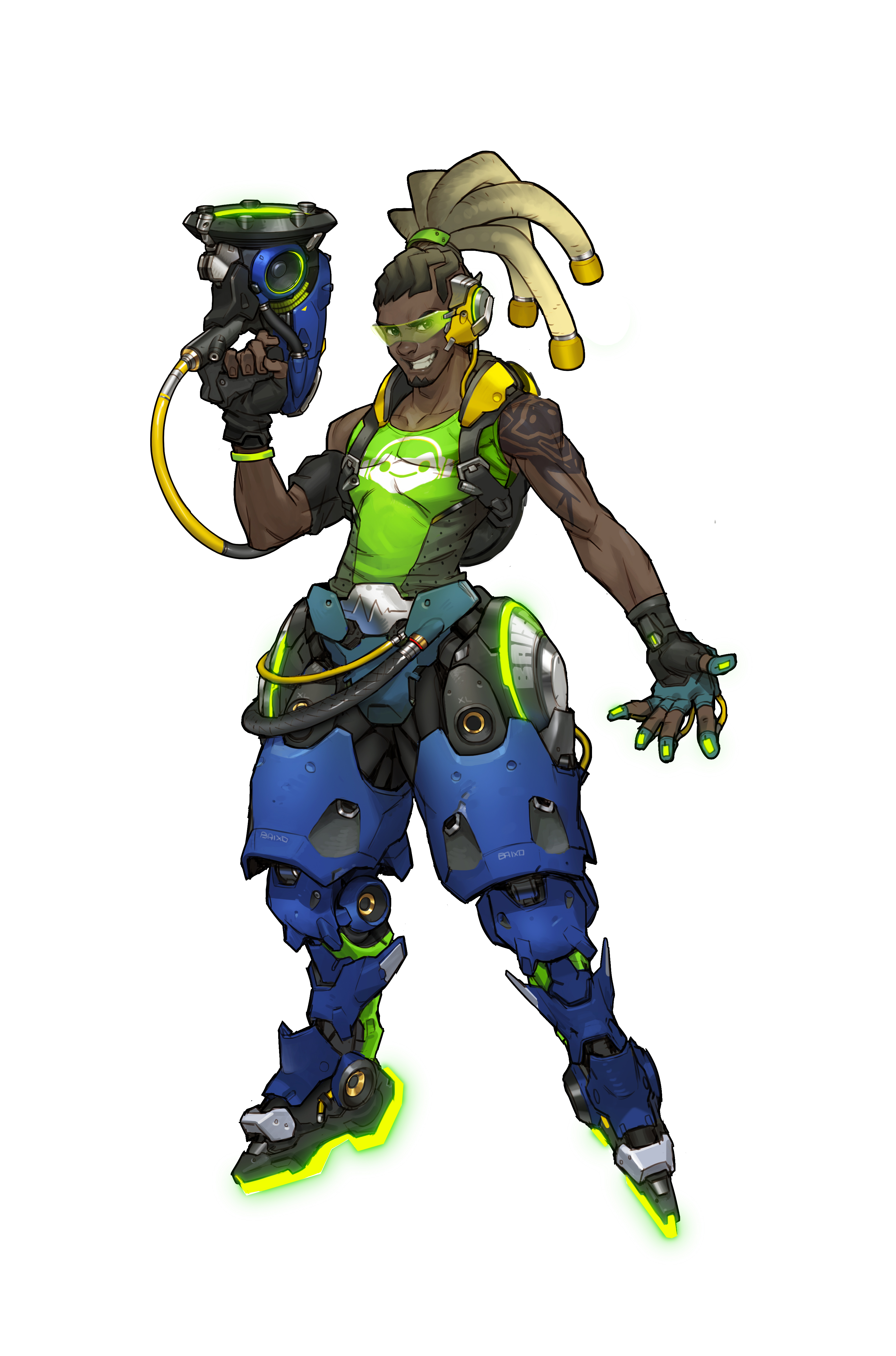 Character Concept Art for Blizzard's Overwatch | Overwatch